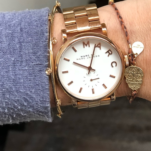 Marc Jacobs Accessories Rose Gold Baker Watch Poshmark